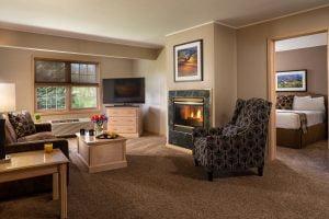 Living Room in Grand Whirlpool Suite