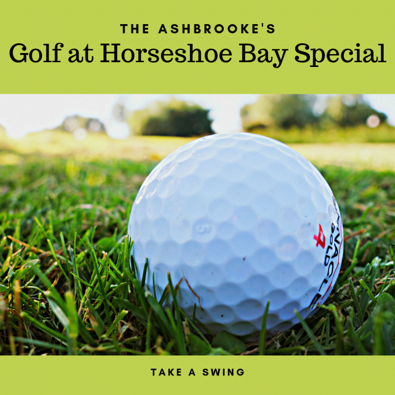 Golf at Horseshoe Bay Special