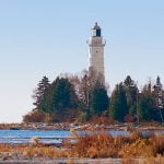 Lighthouse on Cana Island