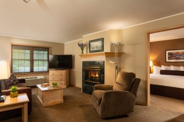 Living Room and Suite view of Grand Suite