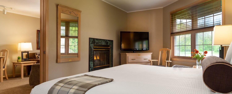Bedroom of Grand Suite