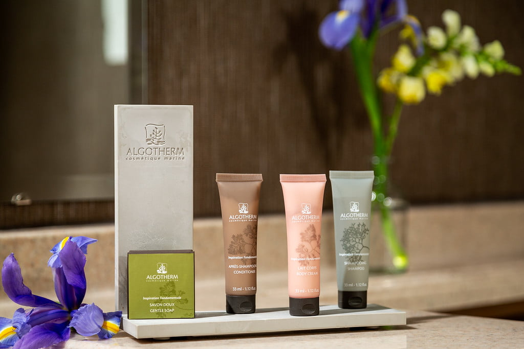 amenities at the ashbrooke - toiletries